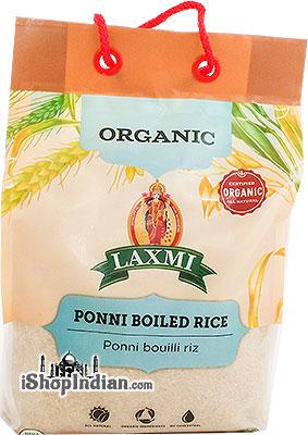 Laxmi Organic Ponni Boiled Rice - 10 lbs