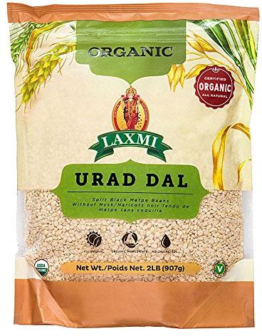 Laxmi Organic Urad Dal - 2 lbs