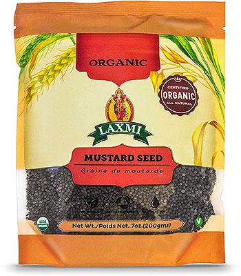 Laxmi Organic Mustard Seeds (Big)
