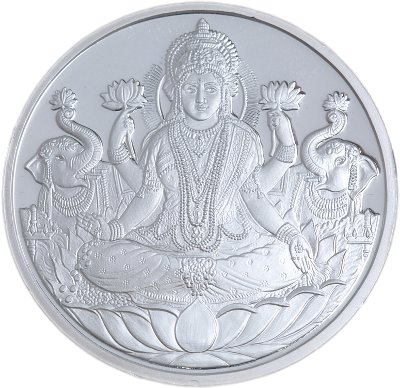 Laxmi .999 Silver Coin - 50 gms