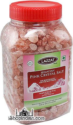 Lazzat Himalayan Pink Crystal Salt