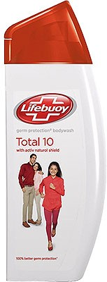 Lifebuoy Body Wash - Total 10