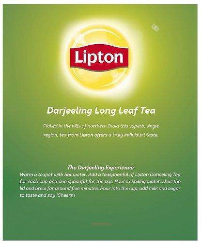 Lipton Darjeeling Leaf Tea (Formerly Green Label Tea