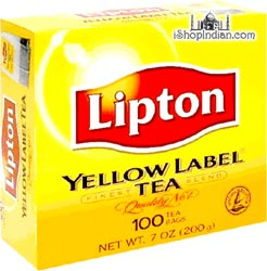 Lipton Yellow Label TEA BAGS (100 TEA BAGS)