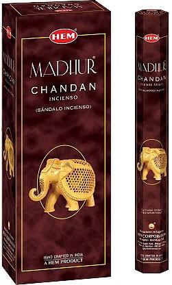 Hem Madhur Chandan Incense - 120 sticks