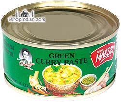 Maesri Green Curry Paste - 4 oz