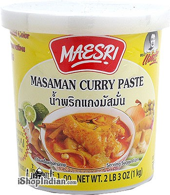 Maesri Masaman Curry Paste - 1 kg