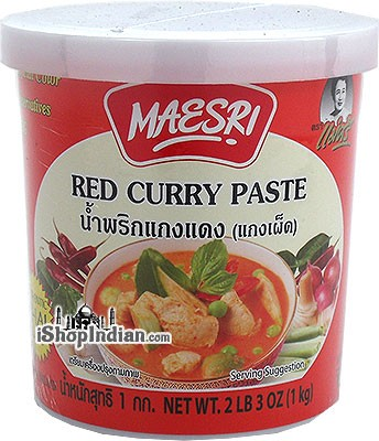 Maesri Red Curry Paste - 1 kg