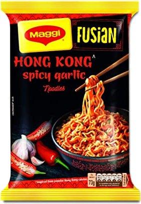 Maggi Fusian Hong Kong Spicy Garlic Noodles