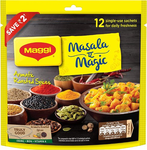 Maggi Masala-E-Magic - Blended Spices Packet - 12 pack
