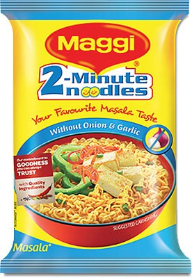 Maggi Masala Noodles - Without Onion and Garlic