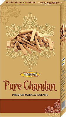 Maharani Pure Chandan Premium Masala Incense - 90 Sticks