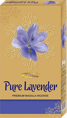 Maharani Pure Lavender Premium Masala Incense - 90 Sticks