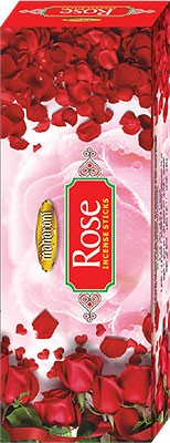 Maharani Red Rose Incense - 120 Sticks