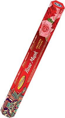 Maharani Rose Musk Incense - 20 Sticks
