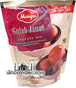 Maiyas Gulab Jamun Instant Mix