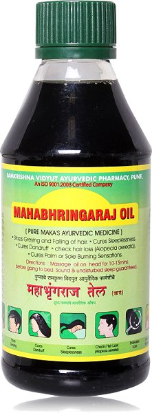 Ramkrishna Pharmacy Pure Maka's Mahabhringaraj Oil