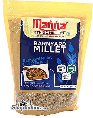 Manna Pearled Barnyard Millet - 1 kg