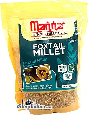 Manna Pearled Foxtail Millet - 1 kg