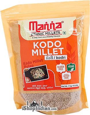 Manna Pearled Kodo Millet - 1 kg