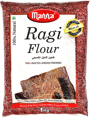 Manna Ragi Flour (Finger Millet Flour)