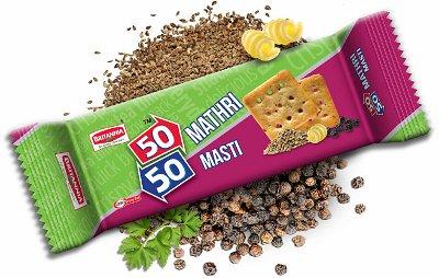 Britannia 50-50 Mathri Masti Crackers