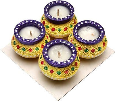 Matki Diya - Holiday - 4 Pack (#254)