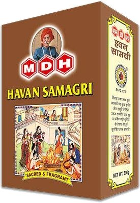 MDH Havan Samagri (Aromatic Religious Mixture) - 17.6 oz