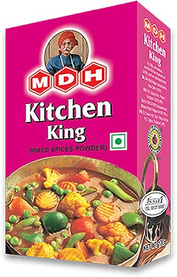 Buy mdh masalas and spices online at for Kitchen king masala