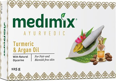 Medimix Ayurvedic Turmeric & Argan Oil Soap