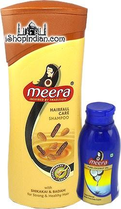 Meera Hairfall Care Shampoo with Shikakai & Badam (For Strong & Healthy Hair)