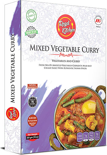 Regal Kitchen Mixed Vegetable Curry (Ready-to-Eat) - BUY 2 GET 1 FREE!