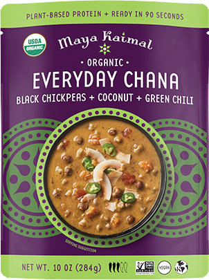 Maya Kaimal Organic Everyday Chana - Black Chickpeas + Coconut + Green Chili