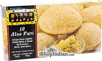Mirch Masala Aloo Puri - 10 pcs (FROZEN)
