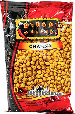 Mirch Masala Channa (whole)