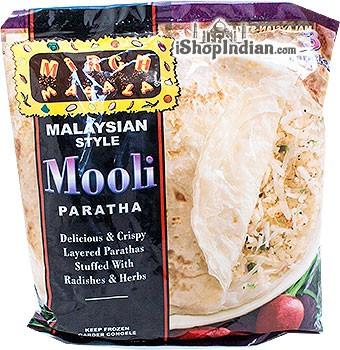 Mirch Masala Mooli Paratha (Malaysian Style) - 3 pcs (FROZEN)
