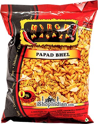 Mirch Masala Papad Bhel