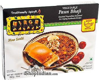 Mirch Masala Vegetable Paun Bhaji (FROZEN)