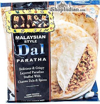 Mirch Masala Dal Paratha (Malaysian Style) - 3 pcs (FROZEN)