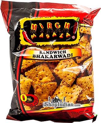 Mirch Masala Sandwich Bhakarwadi