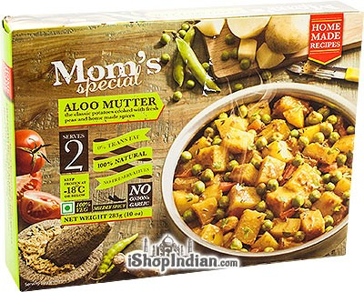 Mom's Special Aloo Mutter (FROZEN)
