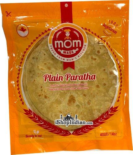 Mom Made Plain Paratha - 4 pcs