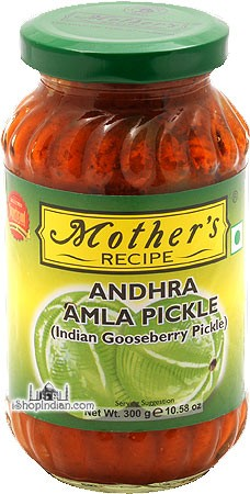 Mother's Recipe Spicy Amla (Indian Gooseberry) Pickle