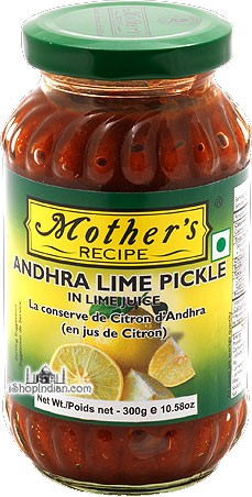Mother's Recipe Andhra Lime Pickle In Lime Juice