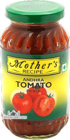 Mother's Recipe Andhra Tomato Pickle With Garlic