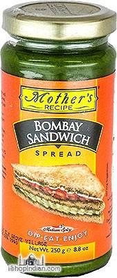 Mother's Recipe Bombay Sandwich Spread