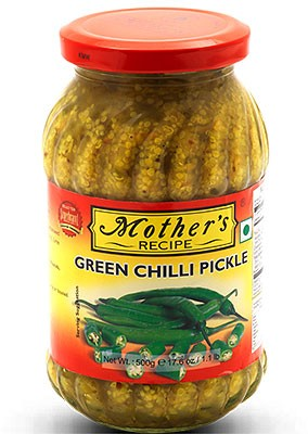 Mother's Recipe Green Chili Pickle
