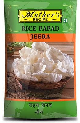 Mother's Recipe Rice Papad - Jeera (Cumin) - Mini