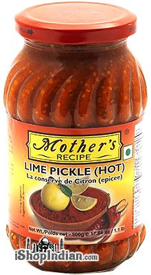 Mother's Recipe Lime Pickle (Hot)