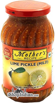 Mother's Recipe Lime Pickle (Mild)